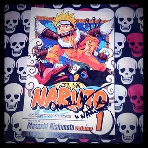 SIGNED Copy of Naruto Vol. 1 Manga